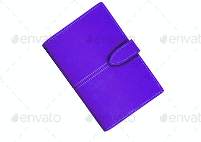 violet Wallet. On a white background.