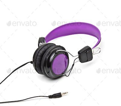 Wireless headphone isolated on white
