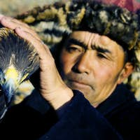 Mongolian Man with Traditional Lifestyles