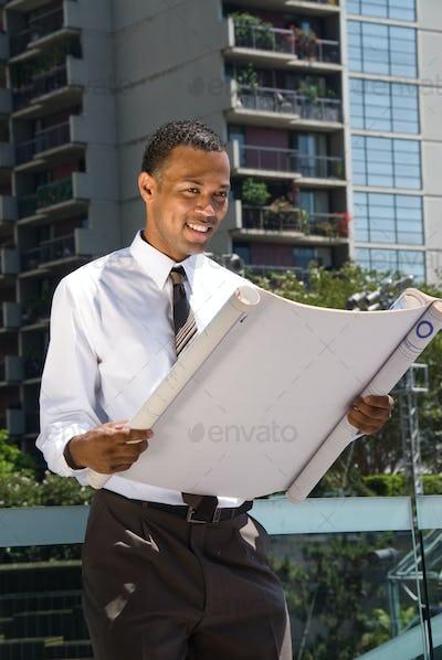 Black Male Architect