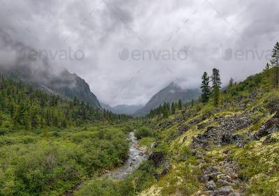 U-shaped Valley