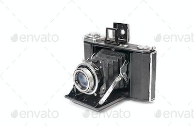 vintage bellows camera