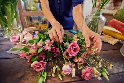 Working with bouquets