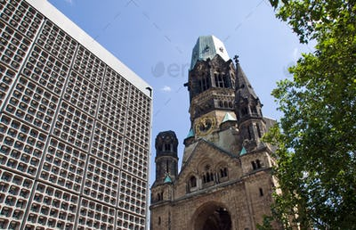 The destroyed Church in Berlin
