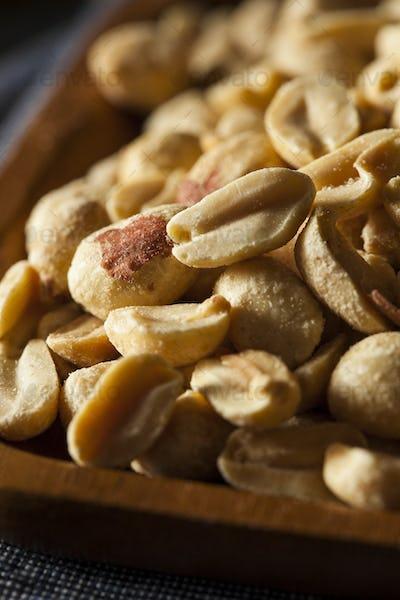 Organic Roasted Salty Peanuts