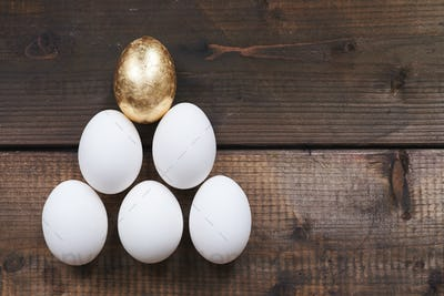 Egg pyramid