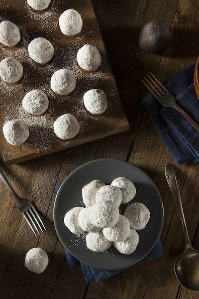 Homemade Sugary Donut Holes