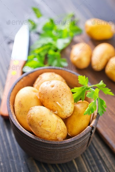 potato with lard
