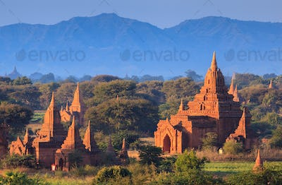 The Temples of Bagan, Myanmar