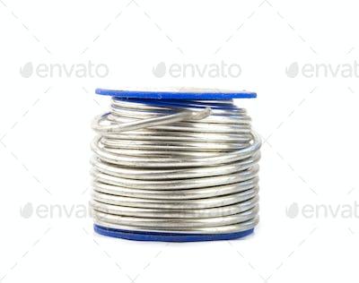 spool with tin