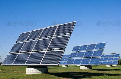 Solar energy plants