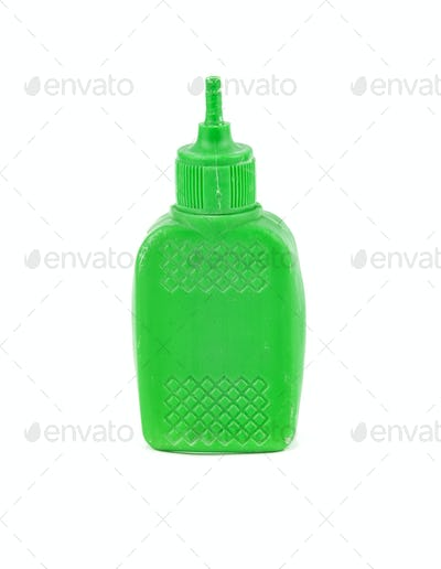 plastic glue container