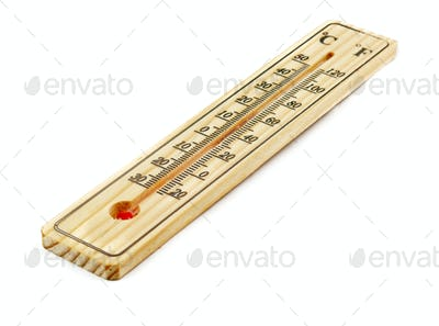 close up of thermometer