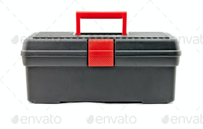 tool box isolated