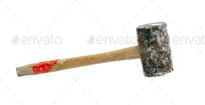 old rubber hammer