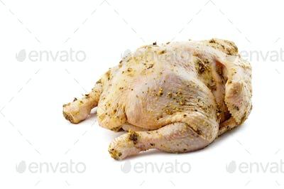 tucked in grude hen