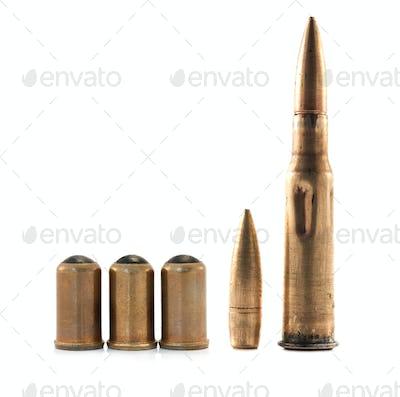 ammunition isolated
