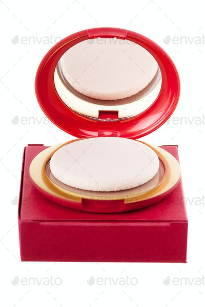 Cosmetic product isolated on white