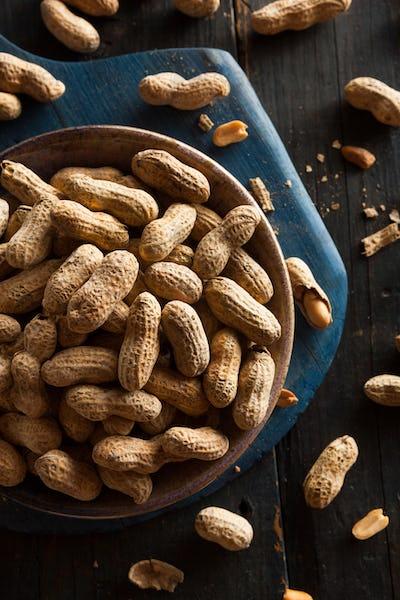 Salted Roasted Shelled Peanuts