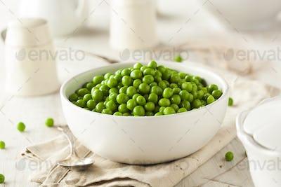 Organic Steamed Fresh Green Peas