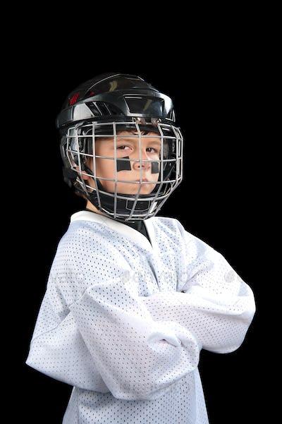 Child Hockey Player