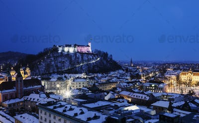 Panorama of Ljubljana