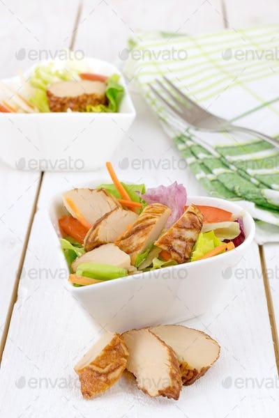 Chicken Salad in a Bowl