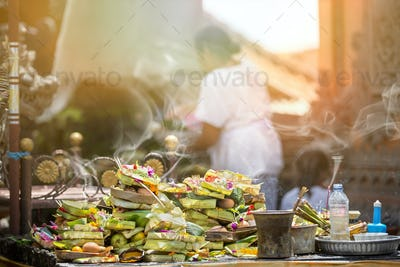 stack of offering God