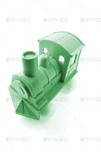 Plastic Toy Train