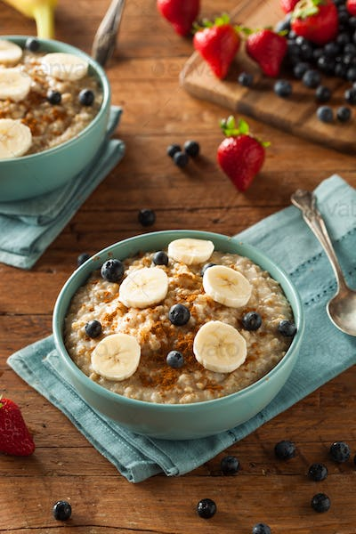 Homemade Healthy Steel Cut Oatmeal