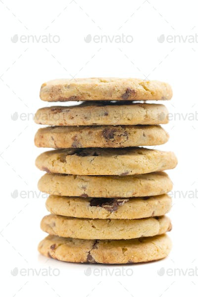 pile of chocolate cookies