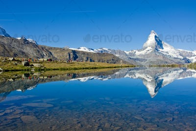 Mass tourism at the Matterhorn