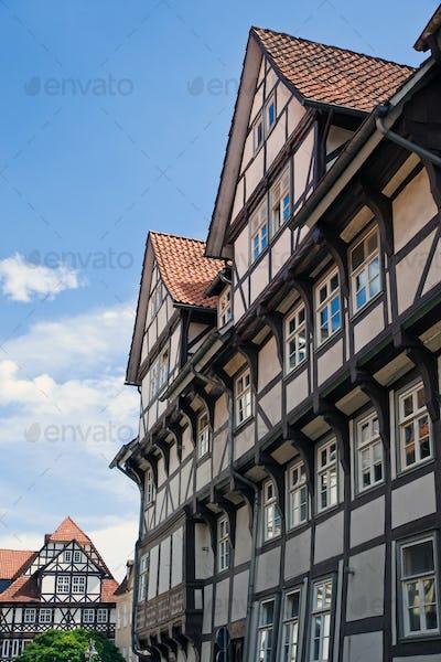 Beautiful half-timbered houses