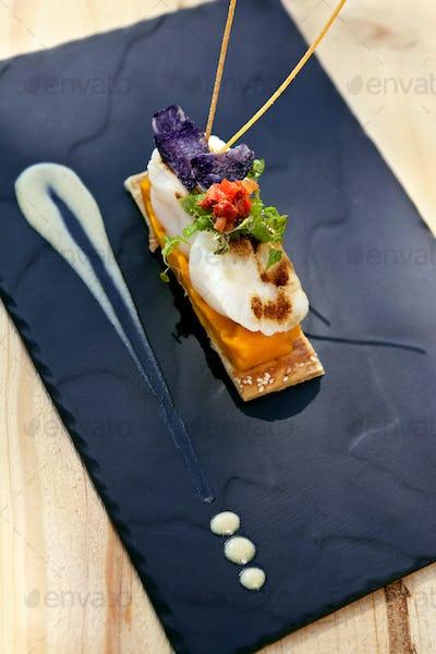 Crustacean dish