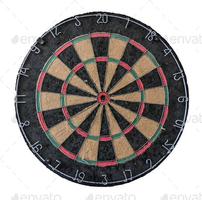 Isolated Dart Board