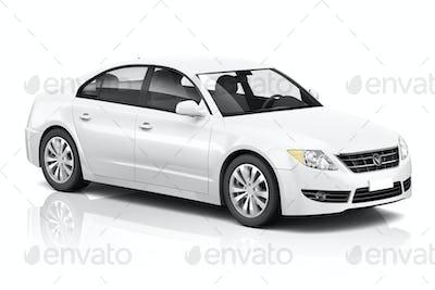 Illustration of Transportation Technology Car Performance Concep