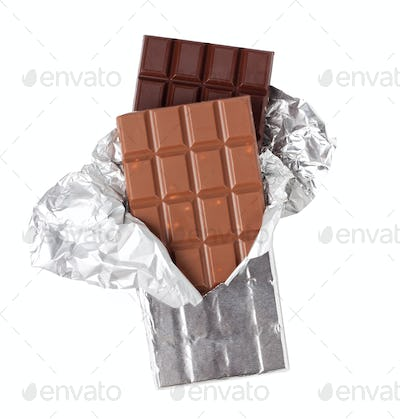 Two Bars of Chocolate