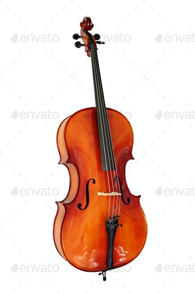 Cello with Clipping Path