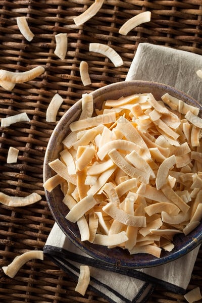 Organic Roasted Coconut Chips