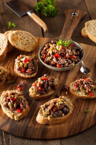 Homemade Mixed Olive Tapenade