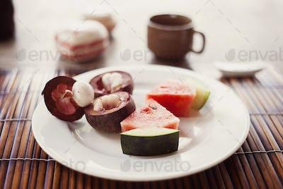 Asian fruit snack