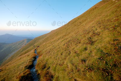 Mountains landscape in Slovakia