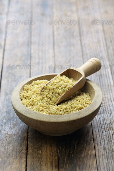 bulgur wheat, Turkish food