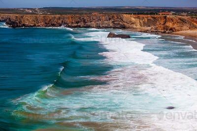 Amazing Ocean Wave.  Beautiful sea wave