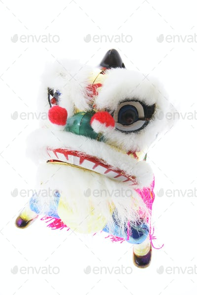 Miniature Lion Dance Ornament