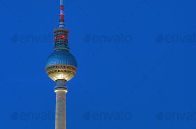 Detail of the TV Tower in Berlin