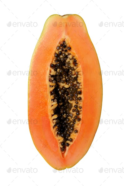 Half of Papaya