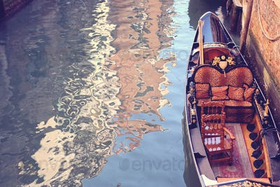 Gondola photographed from above