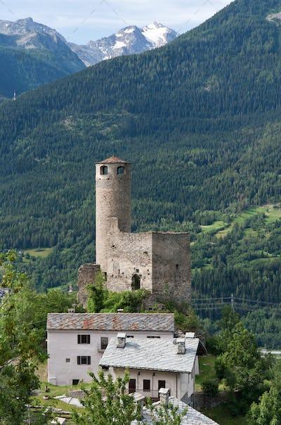 Chatelard Castle, La Salle, Italy