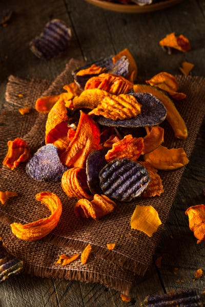 Healthy Organic Vegetable Chips